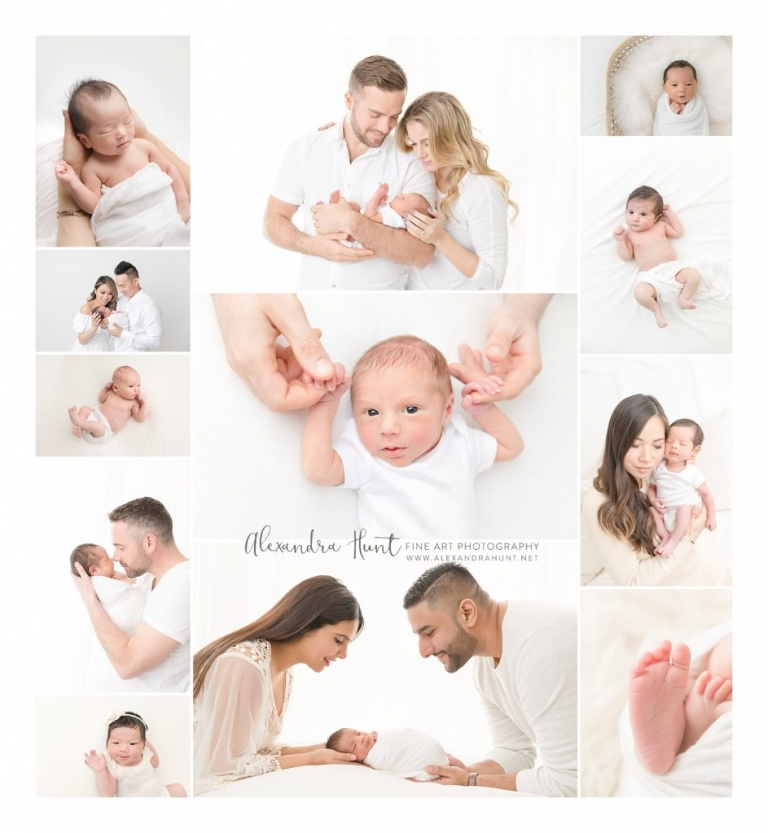 Did you give birth in the last 8 weeks + miss out on newborn photos? I'd love to help you! Newborns older than 14 days old are not suited for the traditional sleepy posing and props ... BUT that same alertness makes for great expression, eye contact, and beautiful family connection. These all-white, non-posed lifestyle studio sessions for older newborns start at $450. Contact me at www.alexandrahunt.net to learn more!