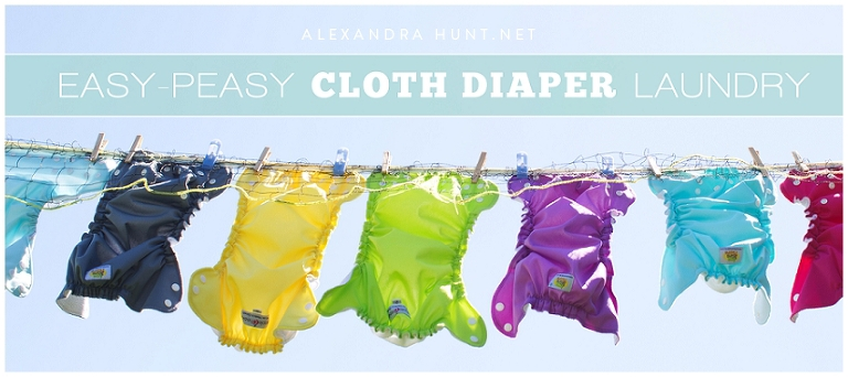 EASY CLOTH DIAPER LAUNDRY
