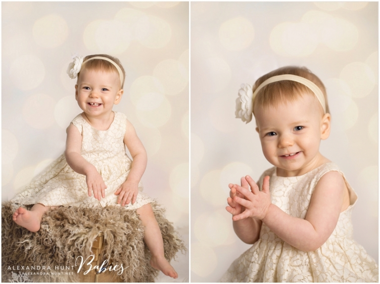 vancouver studio baby first year birthday photographer, Alexandra Hunt Photography