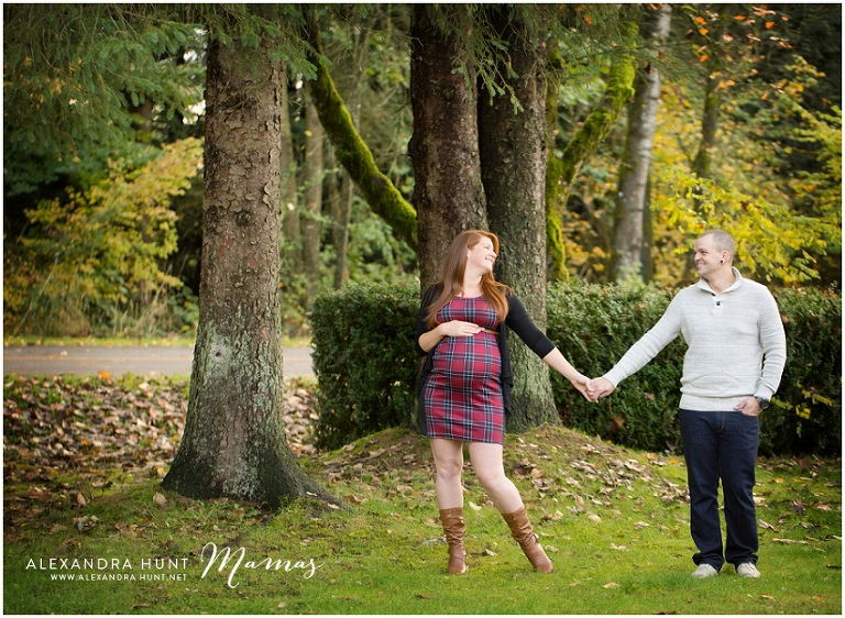 langley outdoor maternity photographer, Alexandra Hunt Photography