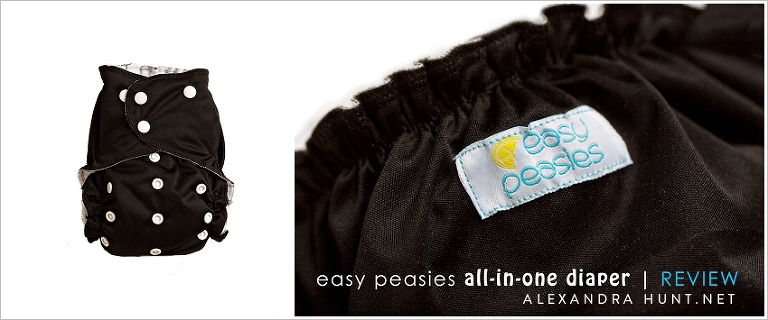 easy peasies all-in-one cloth diaper