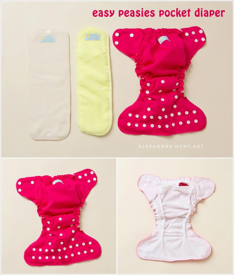 easy peasies cloth diaper review