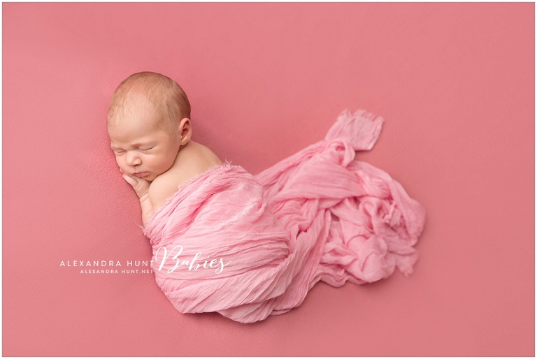 langley newborn portrait photographer, Alexandra Hunt Photography