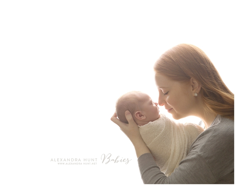 Langley newborn baby photographer, Alexandra Hunt Photography, studio props