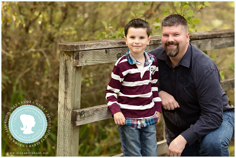 Langley outdoor fall family session, Alexandra Hunt Photography