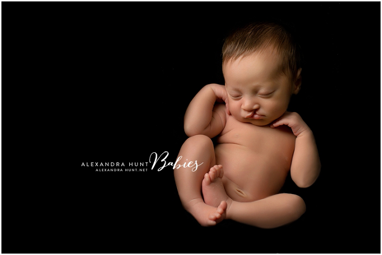 newborn photography, Langley studio, Alexandra Hunt Photography, cleft lip