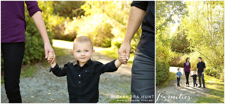 Langley outdoor family photographer, Alexandra Hunt Photography