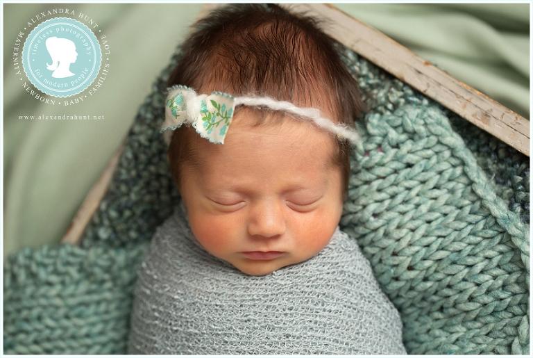 best Langley newborn photographer, Alexandra Hunt Photography