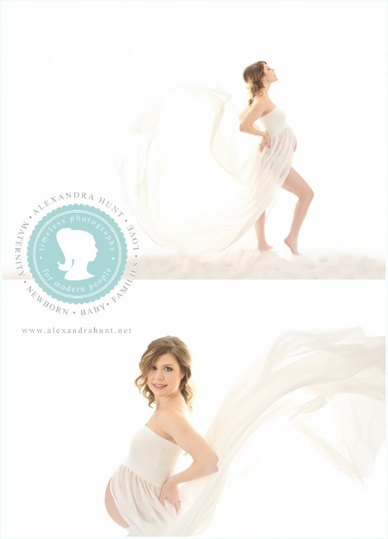 Langley maternity studio photographer, Alexandra Hunt Photography
