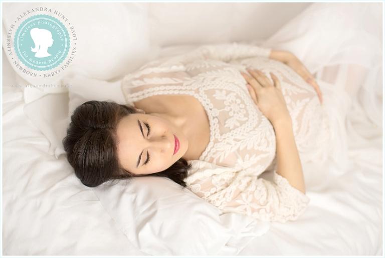 Langley maternity studio photography