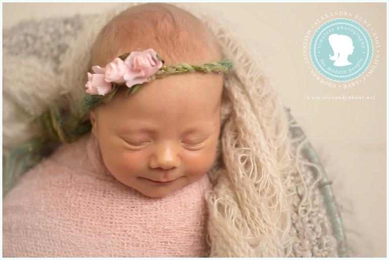 Surrey newborn photograph