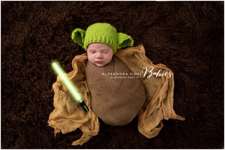 yoda starwars newborn